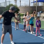 Saturday tennis sessions for the juniors