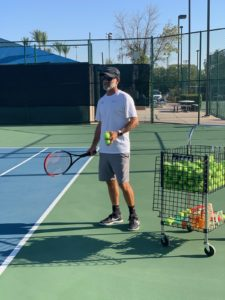 Dr. Greg Prudhomme elite USTPA certified pro - near by tennis lessons